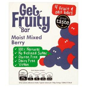 Get Fruity Moist Mixed Berry Fruit Oat Bars