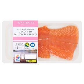 Waitrose 2 Scottish Salmon Tail Fillets