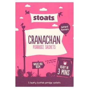 Stoats Cranachan Porridge Sachets