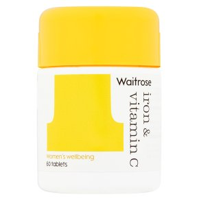 Waitrose Iron & Vitamin C