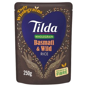 Tilda brown basmati & wild rice wholegrain