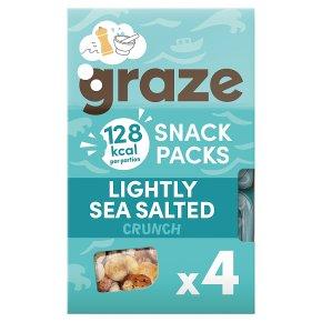 Graze Lightly Sea Salted Crunch