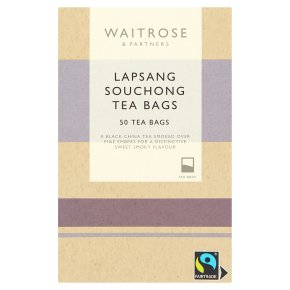 Waitrose Lapsang Souchong Tea Bags