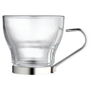 Waitrose Glass Espresso Mug