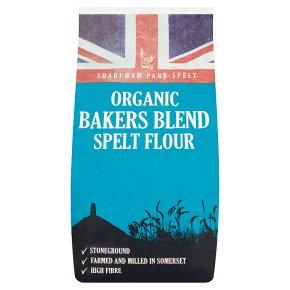 Sharpham Park Organic spelt flour artisan