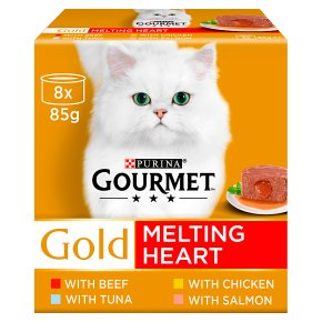 Gourmet Gold Melting Heart Meat & Fish