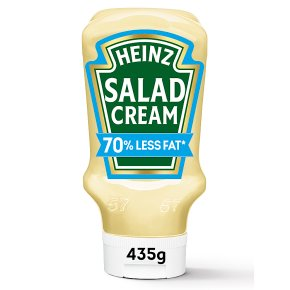Heinz salad cream 70% reduced fat