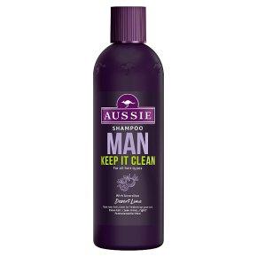 Aussie Man Shampoo Keep It Clean