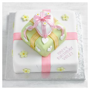 Fiona Cairns Three Tier Parcel Cake