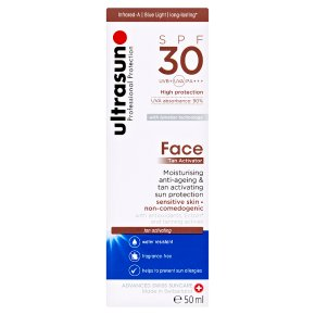 Ultrasun SPF 30 Face Tan Activator