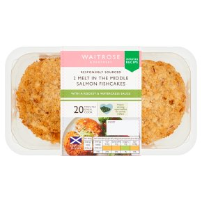 Waitrose Salmon, Rocket & Watercress Fishcakes