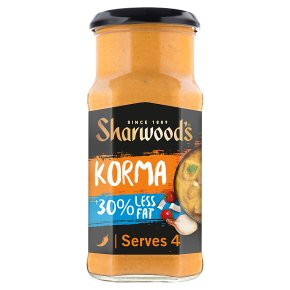 Sharwood's Korma 30% Less Fat