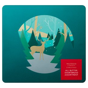 Waitrose Christmas All Butter Shortbread Tin