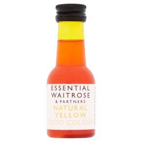 essential Waitrose Yellow Food Colour