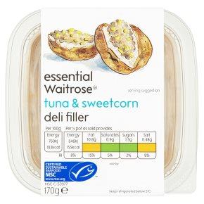 essential Waitrose Tuna & Sweetcorn Deli Filler