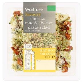 Waitrose Chorizo Mac & Cheese Pasta Salad