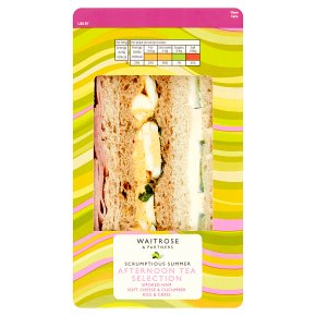 Waitrose Afternoon Tea Selection Sandwhich