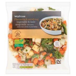 Waitrose Cooks' Ingredients root vegetable & kale soup mix