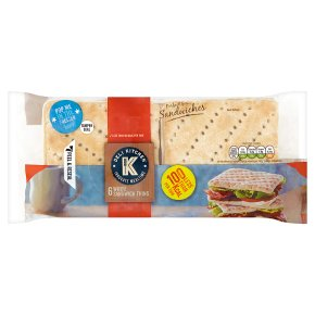 Deli Kitchen White Sandwich Thins