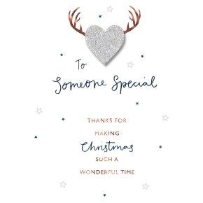 Someone special christmas card waitrose someone special christmas card m4hsunfo