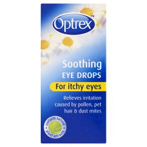 Optrex itchy eye drops