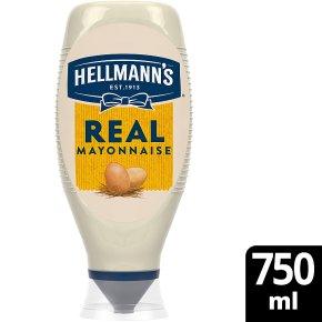 Hellmann's Real squeezy mayonnaise