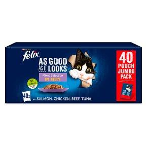 Felix As Good As It Looks Cat Food Mixed
