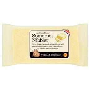 Somerset Nibbler Vintage Cheddar