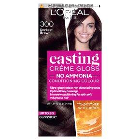 L'Oréal casting 300 darkest brown