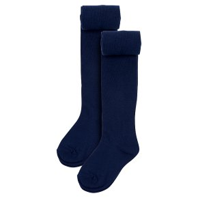 Waitrose 2pk Navy tights size: 5-6yrs