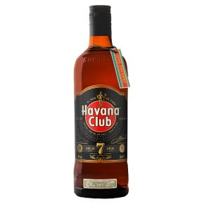 Havana Club rum Anejo 7 years old