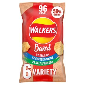 Walkers Oven Baked Variety Snacks