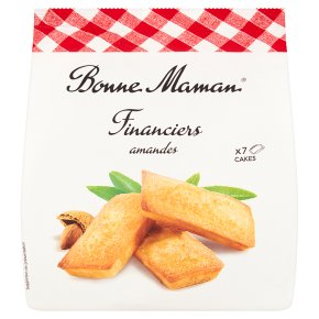 Bonne Maman 7 Almond Financiers