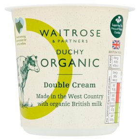 Waitrose Duchy Double Cream