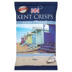 Kent crisps oyster & vinegar