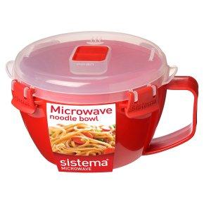 Sistema 940ml red noodle bowl