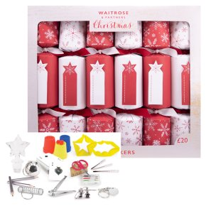 Waitrose Red Tag Christmas Crackers