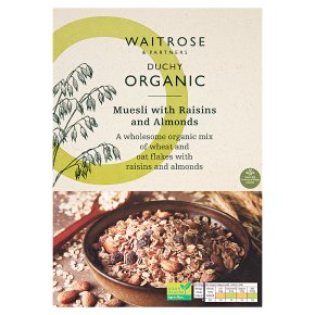 Waitrose Duchy Organic Muesli with Raisins & Almonds