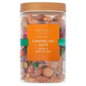 Christmas Caramelised Nuts
