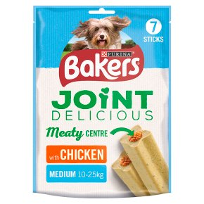 Bakers Joint Delicious Medium Dog Treats Chicken