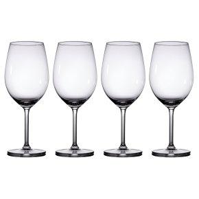 4d3eb5bffd83 Waitrose Dining Chefs  Entertaining red wine glasses