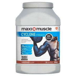 Maxi Muscle Cyclone Strength Chocolate