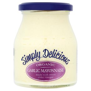 Simply Delicious garlic mayonnaise