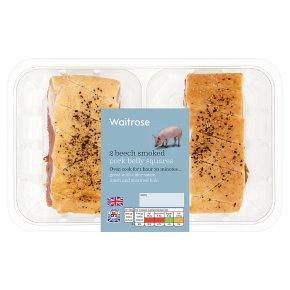 Waitrose 2 Beech Smoked Pork Belly Squares