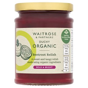 Waitrose DUCHY beetroot relish