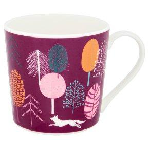 Waitrose Dorset Scandi Trees Mug