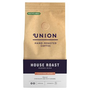 Union Hand-Roasted Coffee House Blend Cafetière Grind