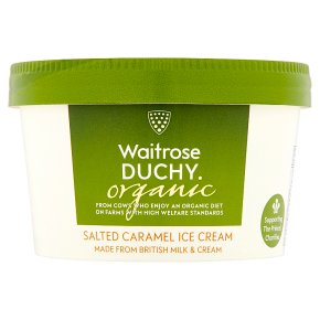 Waitrose Duchy Caramel Ice Cream