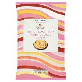 Waitrose Roast Ham Handcooked Crisps