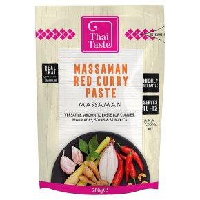 Thai Taste massaman red curry paste